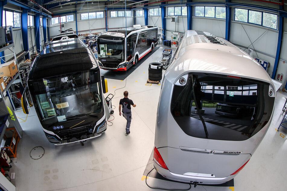 Aufatmen im Vogtland! Thüringer Fahrzeughersteller BINZ übernimmt MAN-Werk in Plauen