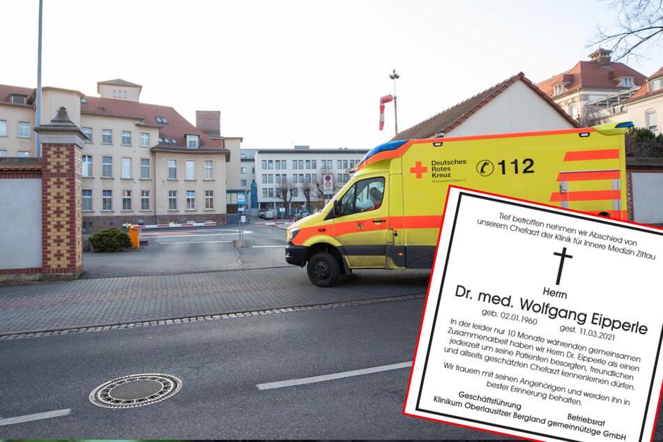 Zittauer Chefarzt stirbt nach Coronavirus-Infektion