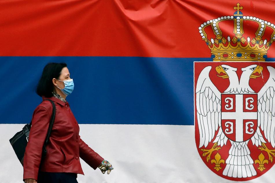 Auch in Serbien ist das Tragen von Mund-Nase-Masken Pflicht.