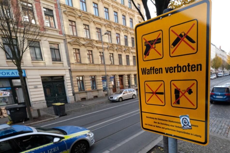 Jetzt auch in Halle: Polizei richtet Waffenverbotszone ein