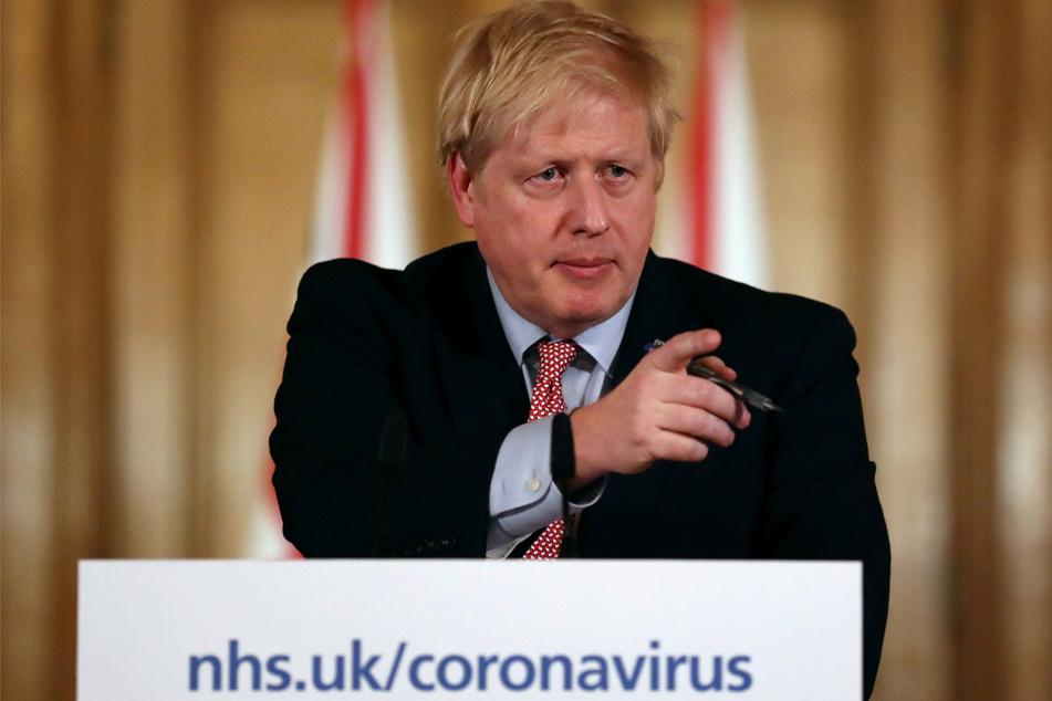 Der britische Premier Boris Johnson (55).