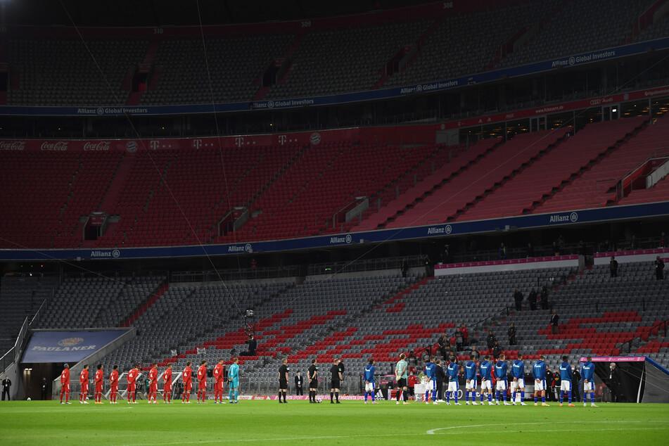 Auch das Supercup-Spiel des FC Bayern München gegen Borussia Dortmund wird in einer leeren Allianz Arena ausgetragen.