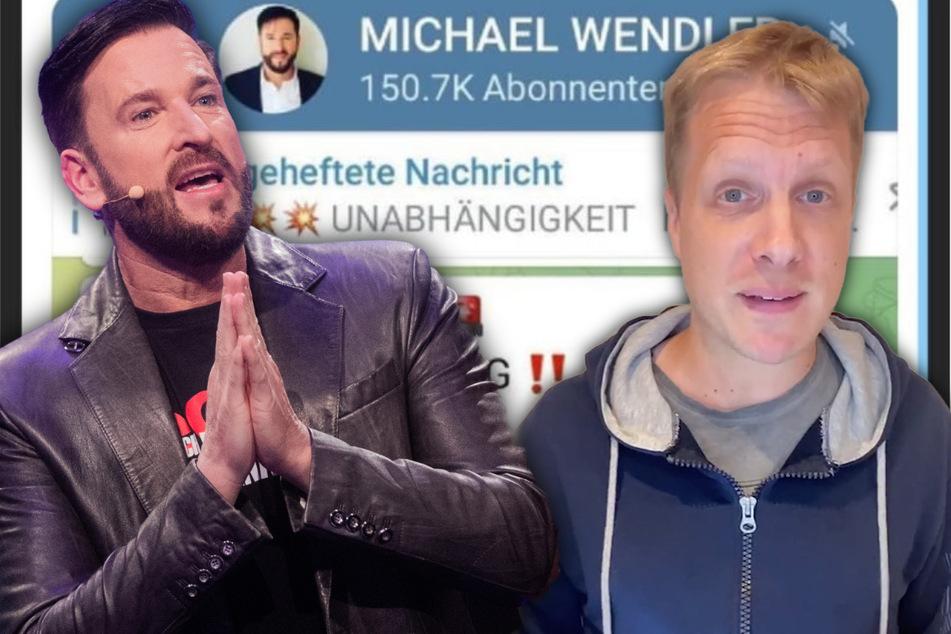Michael Wendler im Panik-Modus: Oliver Pocher kann nur noch den Kopf schütteln