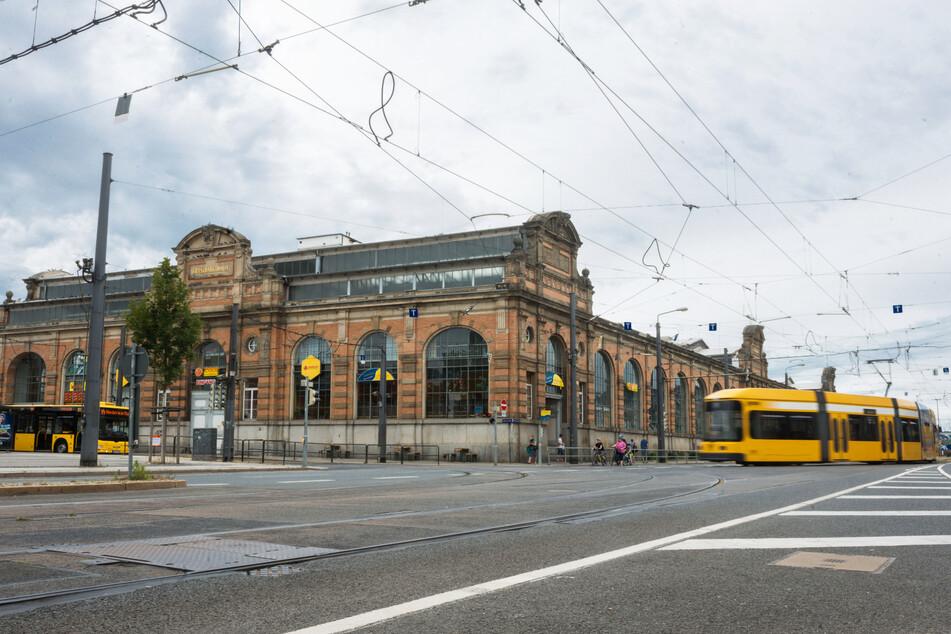 Auf der Weißeritzstraße wurden neun Personen mit Drogen erwischt. (Archivbild)