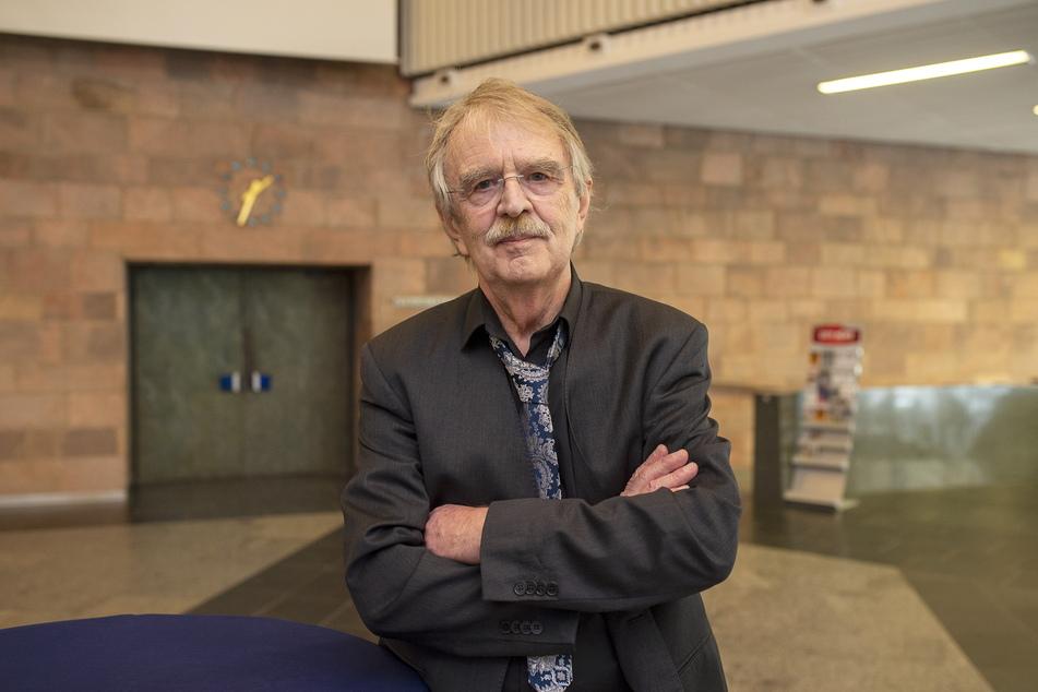 """FDP-Stadtrat Dieter Füsslein (80) bezeichnet die Abriss-Pläne als """"Quatsch""""."""