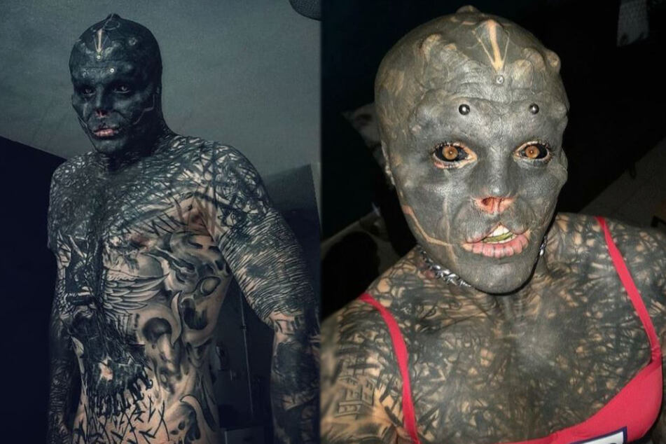 Alien man's latest body modification hasn't just affected his looks