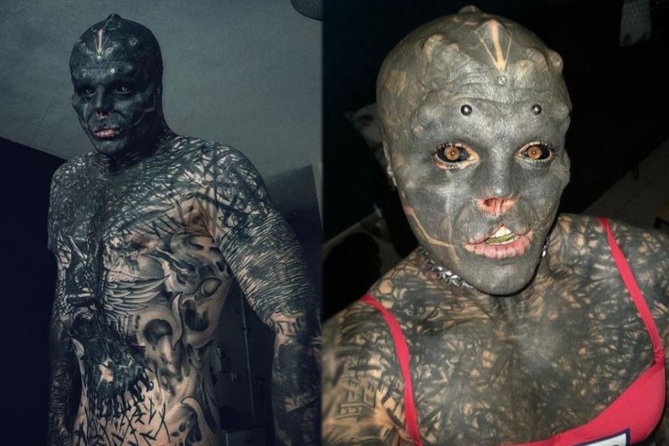 Alien-Mann hat sich Oberlippe entfernen lassen: Doch nun kann er kaum noch sprechen
