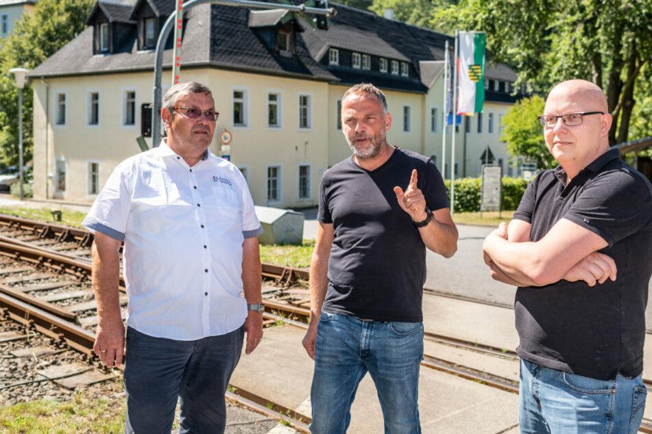 In dieser sächsischen Stadt wurde Glasfaser in Rekordzeit verlegt