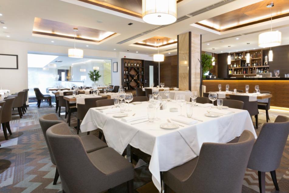Ein Restaurant ohne Gäste. (Symbolbild)