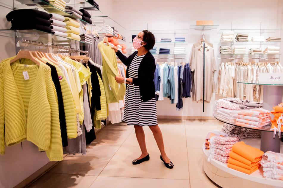 Auch Textilhändler haben wegen der Corona-Pandemie derzeit große wirtschaftliche Probleme.