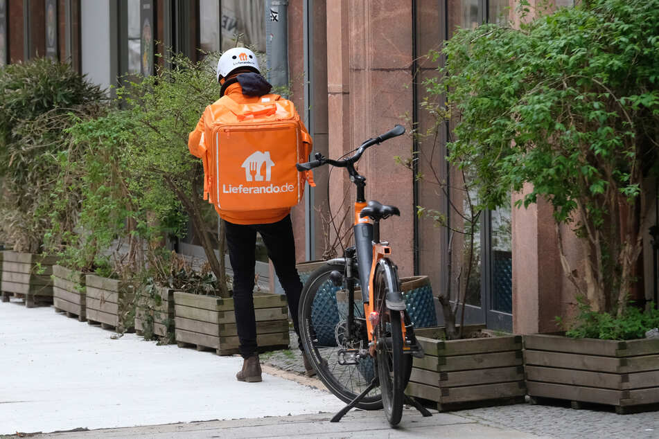 Mobile Lieferdienste wie Lieferando erleben einen Boom.