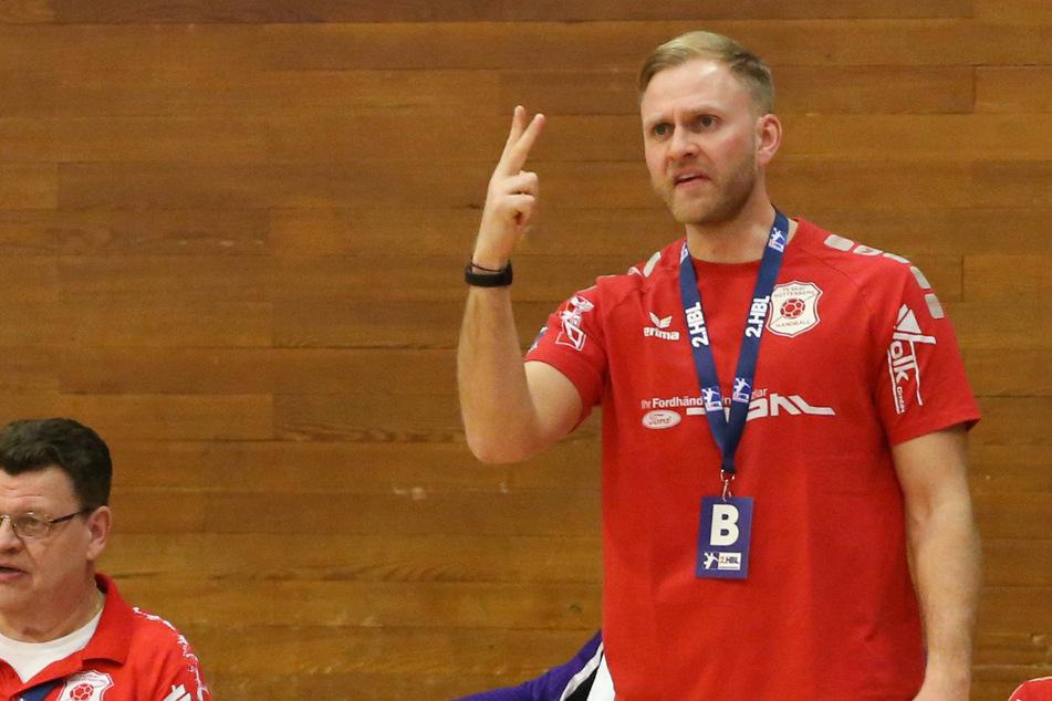 TVH-Coach Johannes Wohlrab hatte sich eine ganz spezielle Taktik ausgedacht.