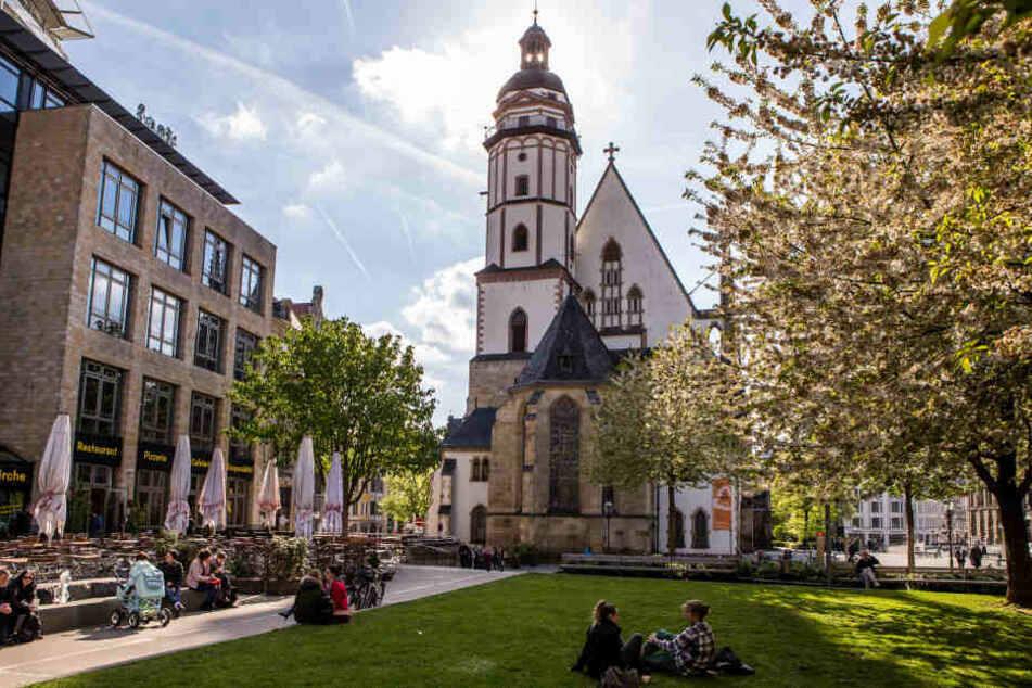 Die Gloriosa aus dem Jahr 1477, älteste Glocke der Thomaskirche Leipzig, läutet am Sonntag wieder.