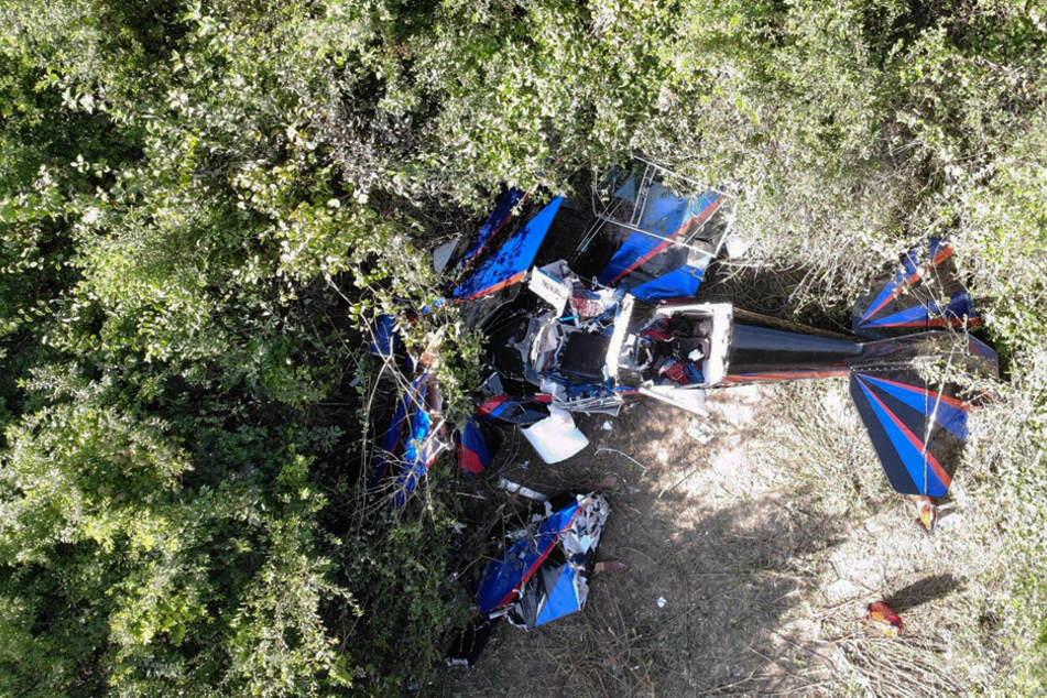 Zwei Tote bei Flugzeugabsturz in Bayern