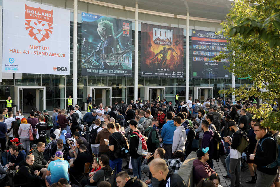 Bilder wie dieses werden wir 2020 nicht von der Gamescom zu sehen bekommen. Deutschlands größte Messe für Videospiele findet in diesem Jahr ausschließlich digital statt.