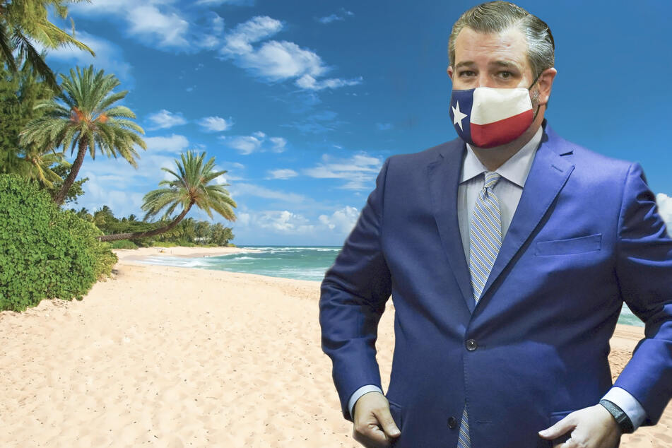 Ted Cruz gets burned after tweeting about Cancun again
