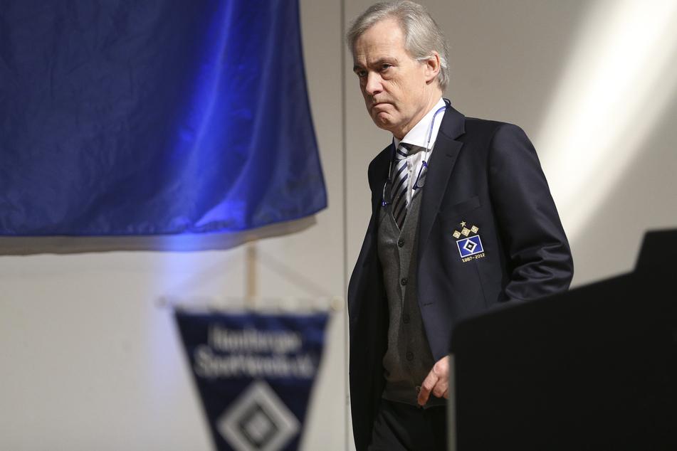Ex-HSV-Präsident Carl Jarchow (66) fordert, dass bei den Rothosen wieder mehr Kritik geäußert wird. (Archivfoto)