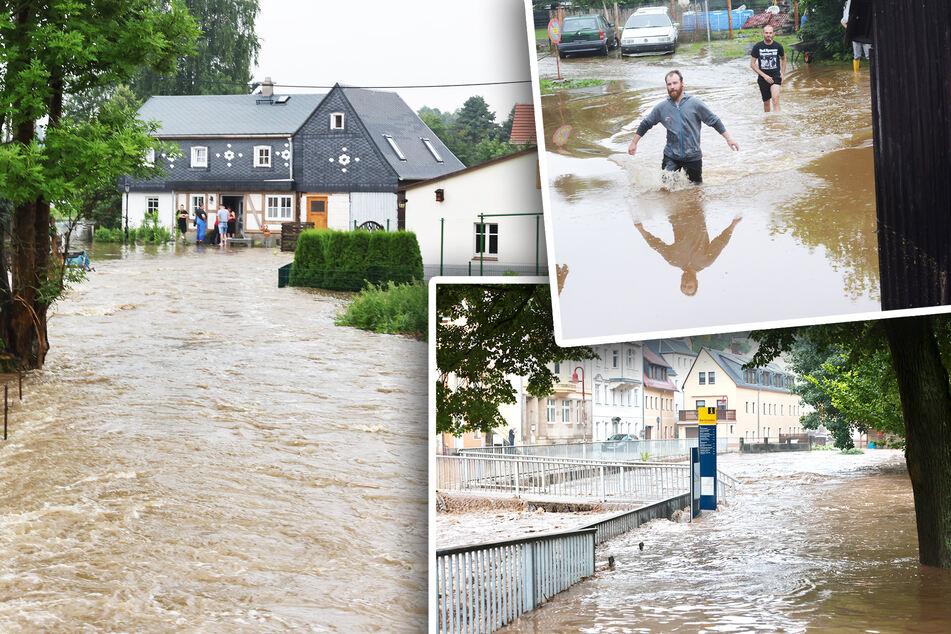 Unwetter-Katastrophe jetzt auch in Sächsischer Schweiz und Oberlausitz
