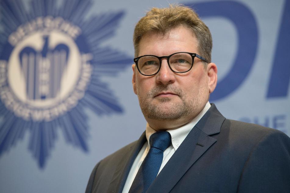 Der Polizeigewerkschafts-Landesvorsitzende Ralf Kusterer.