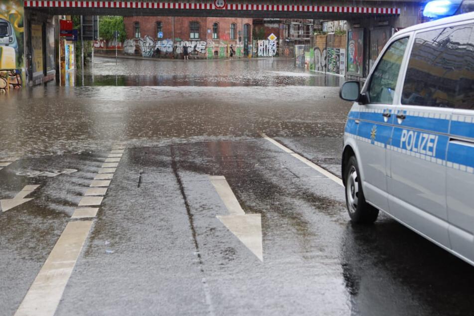 Leipzig: Nach Unwettern in Leipzig: Zwei Schulen geschlossen