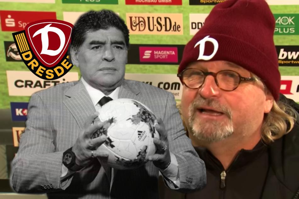 """Dynamo-Co-Trainer Scholz über Maradona-Manndeckung: """"Viel gesehen hab ich ihn nicht"""""""