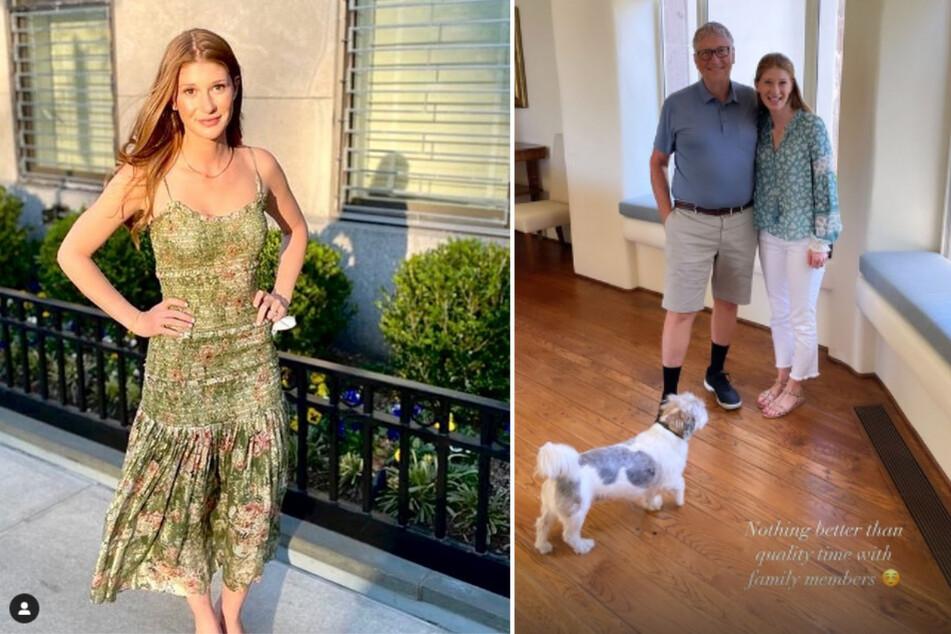 Glücklich und harmonisch zeigte sich Jennifer Gates (25) auf Instagram zusammen mit ihrem Vater Bill Gates (65).
