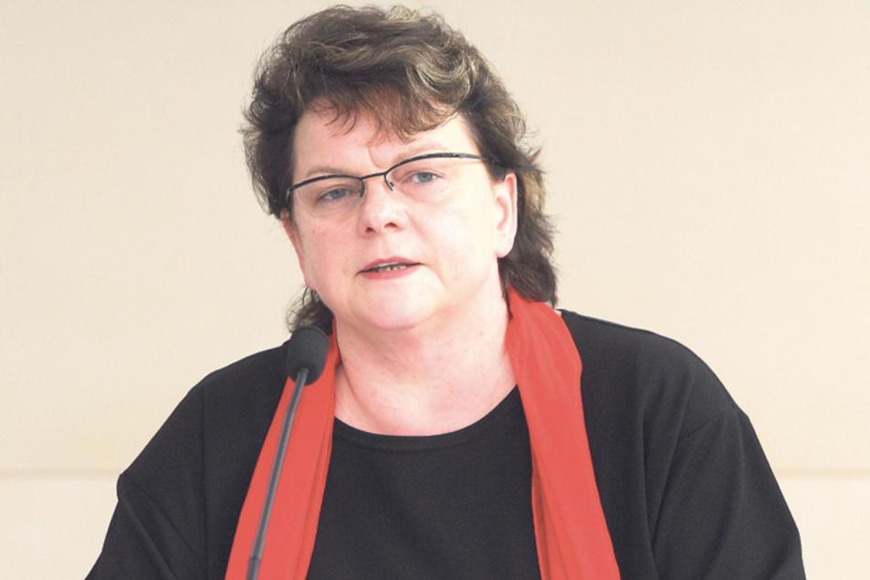 Kerstin Köditz (53).