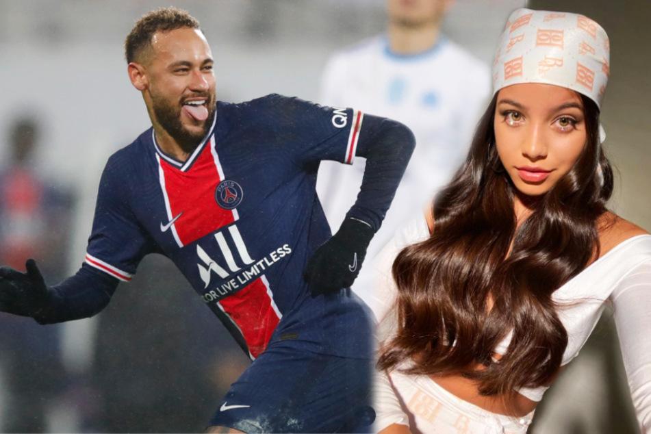 Was läuft da zwischen Neymar (28) und Emilia Mernes (24)?