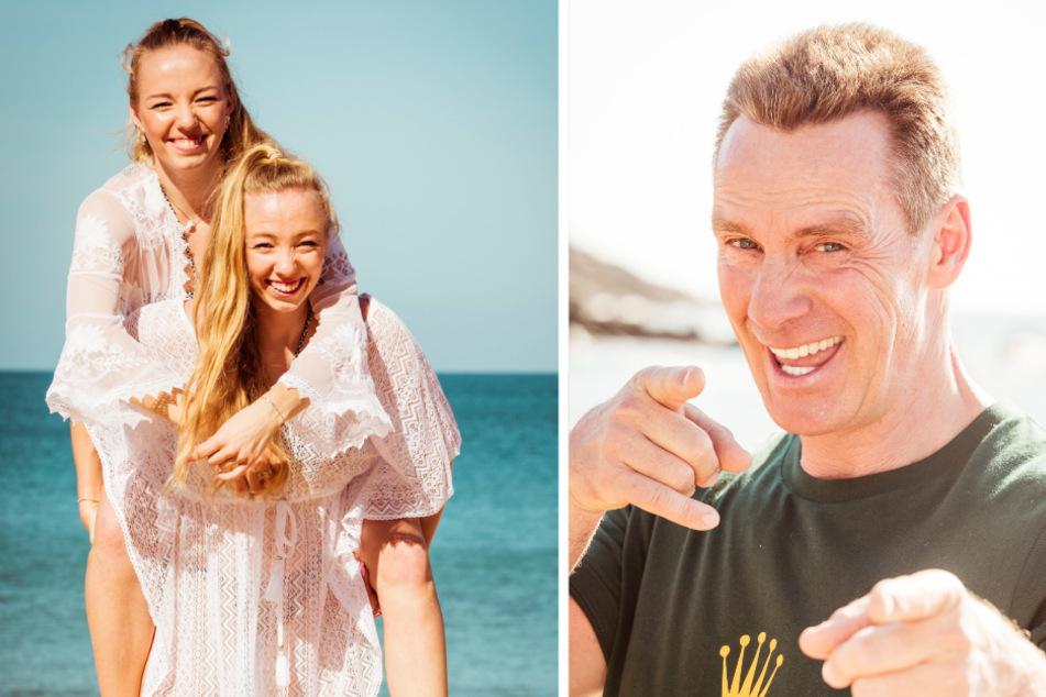 """""""Kampf der Realitystars"""": Die Tennis-Tamagotchi-Twins Yana und Tayisiya (22) möchten nicht """"die Zwillinge"""" genannt werden und Jürgen Milski (56) ist nach Wutausbruch raus."""