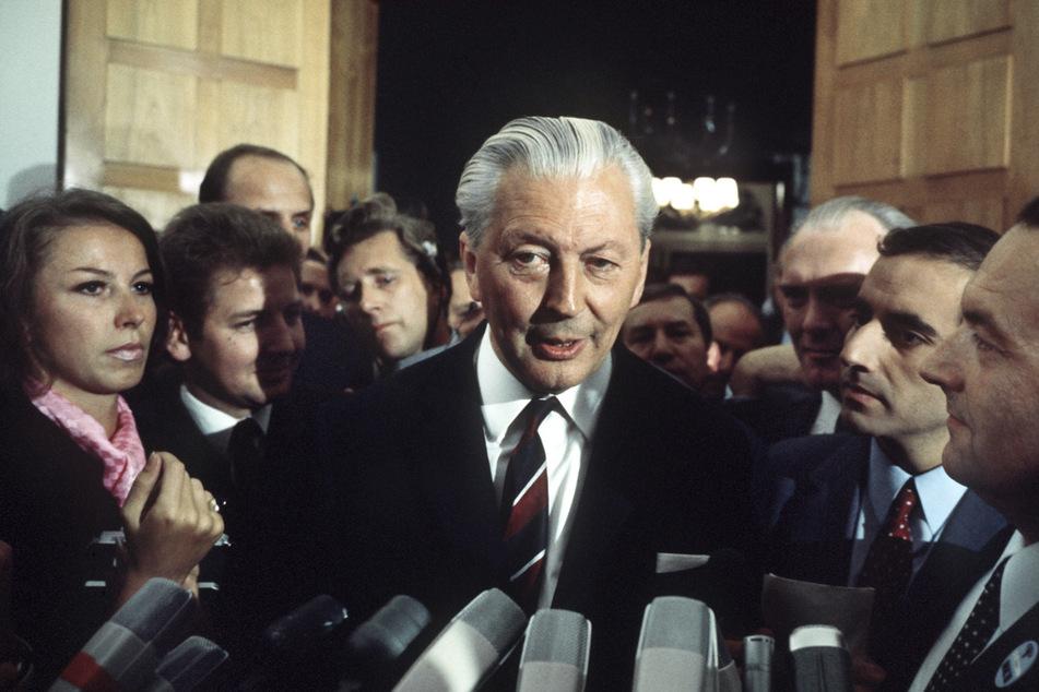 Kurt Georg Kiesinger (CDU, 1904 -1988) war von 1966 bis 1969 Bundeskanzler. (Archivbild)