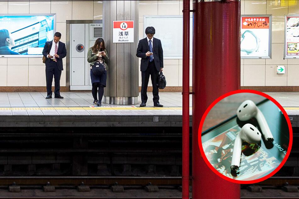 Jeden Monat gehen hunderte Kopfhörer in U-Bahn-Gleisen verloren - kommt jetzt die Rettung?