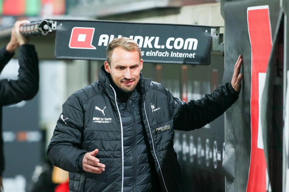 Der 2:1-Auswärtssieg bei Drittliga-Meister Dynamo war auch für FSV-Sportdirektor Toni Wachsmuth (34) ein Saisonhighlight.