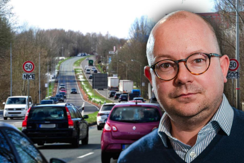"Chemnitzer Stadtrat Müller-Rosentritt: ""Lehne Tempo 50 auf dem Südring ab!"""
