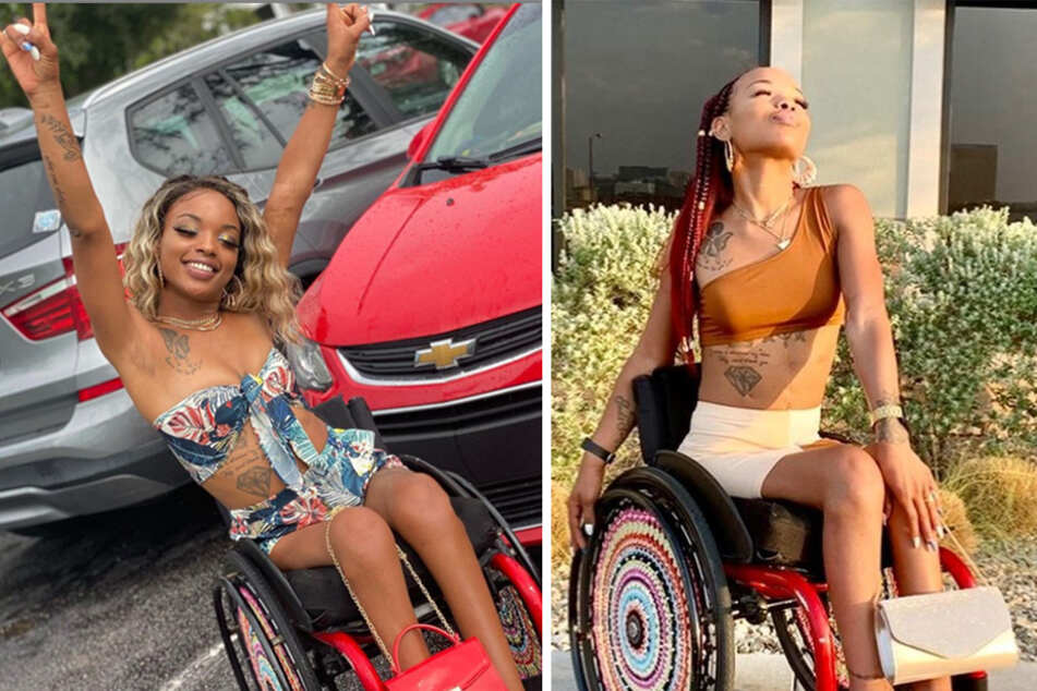 A paralyzed woman inspires with TikTok dances after being shot nine times