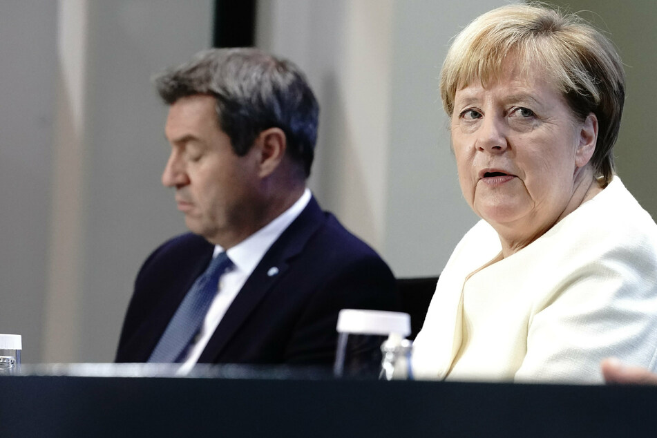 Corona-Gipfel mit Angela Merkel: Bund und Länder diskutieren weiteres Vorgehen