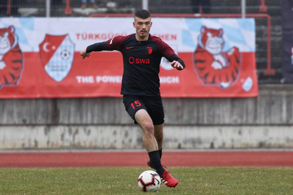 Jozo Stanic (21) wechselt für ein Jahr auf Leihbasis von Bundesligist FC Augsburg zum FSV Zwickau.