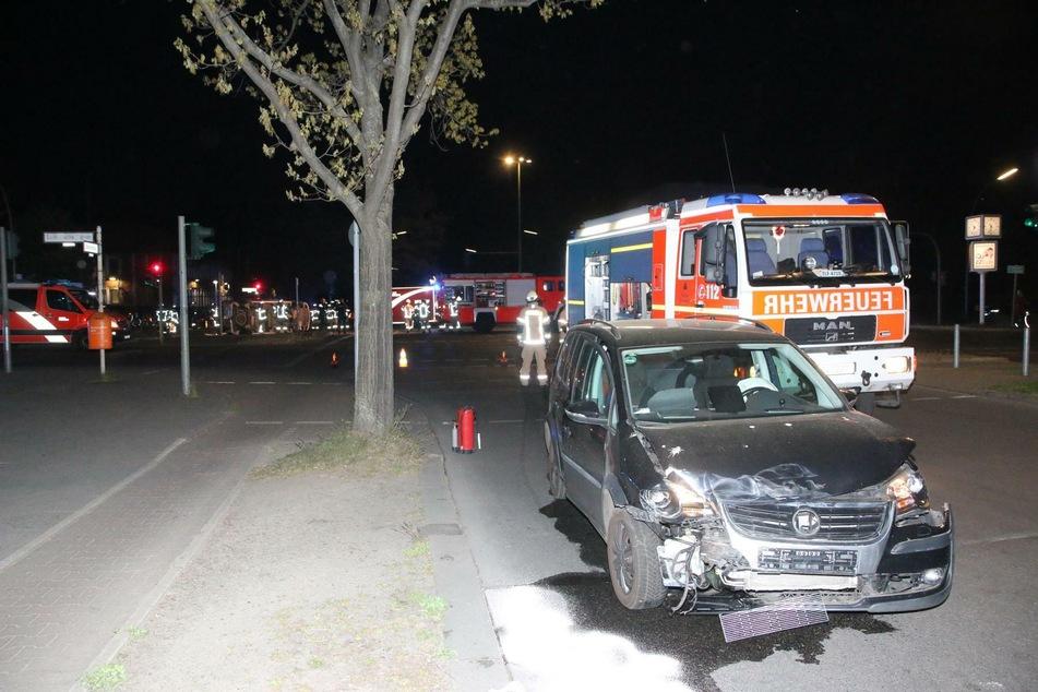 Der VW verursachte den Unfall in Lichtenrade.