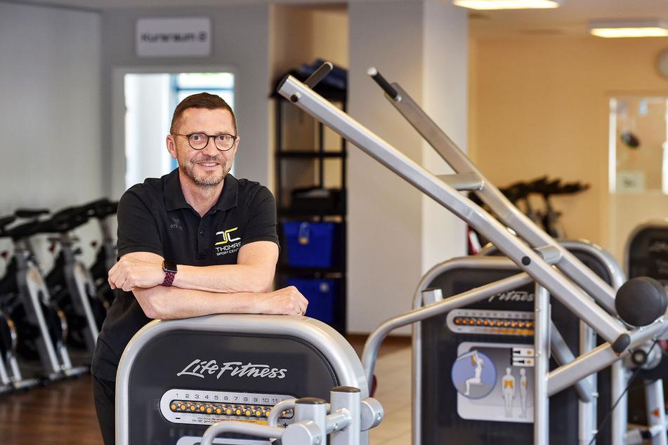 Falk Noack (52), Chef im Thomas Sport Center in Dresden.