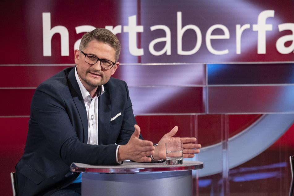 """René Springer (AfD, Bundestagsabgeordneter aus dem Land Brandenburg) war im Anschluss Gast bei """"hart aber fair""""."""