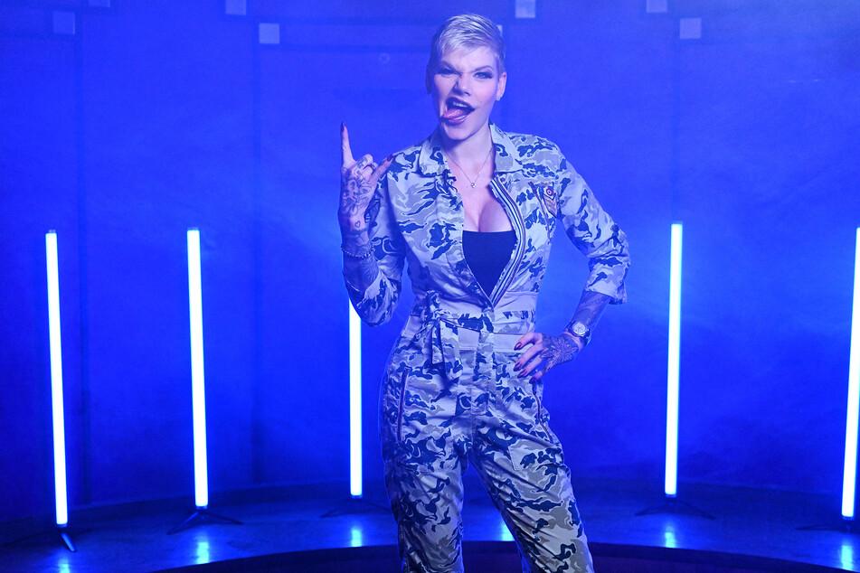 """Keine halben Sachen: Melanie Müller will im """"Comedy Central Roast Beef"""" aufs Ganze gehen."""
