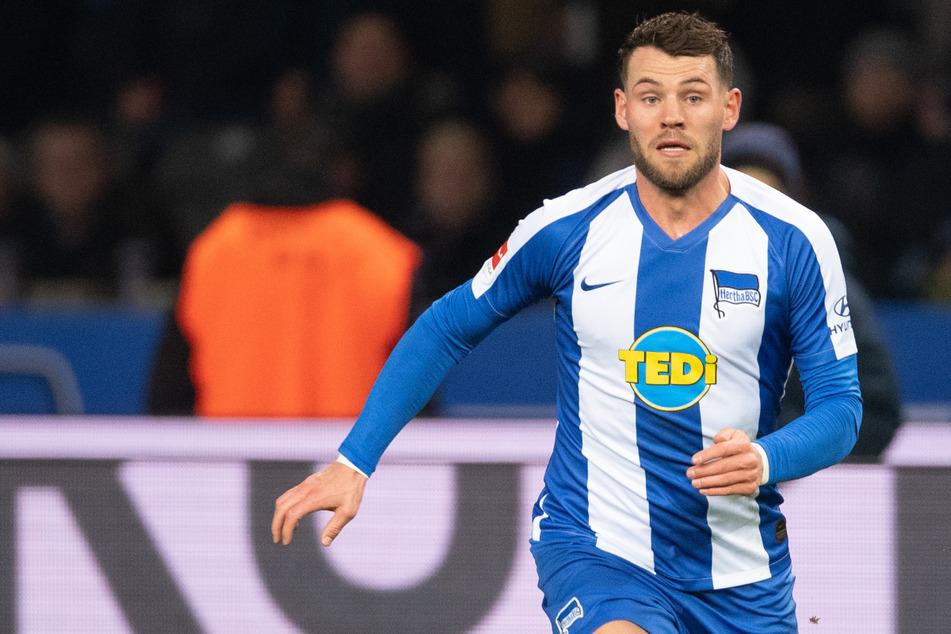 Eduard Löwen (24) kehrte am Deadline Day überraschend zu Hertha BSC zurück. Gefragt waren seine Dienste mit nur sieben Einsätzen aber wenig.