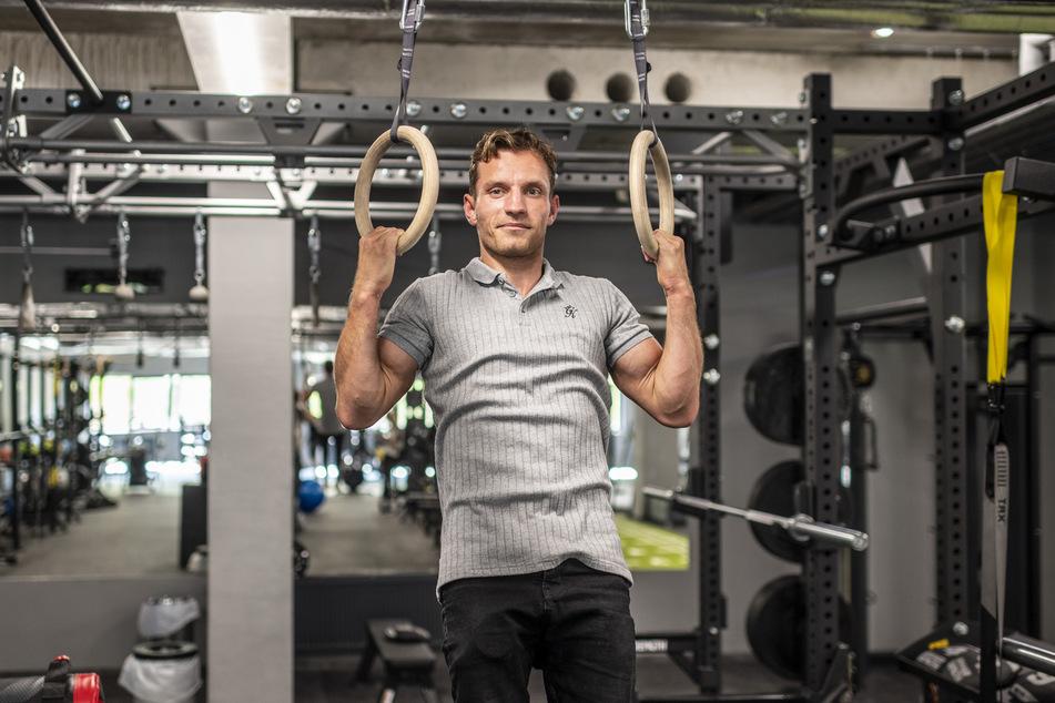 Turner Andreas Bretschneider (31) brachte viele Ideen in das neue Konzept ein und trainiert auch selbst im Club.