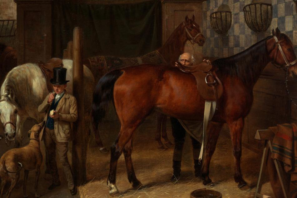 """Nazi-Raubgut: """"Pferdestall"""" bleibt in der Kunsthalle Karlsruhe"""