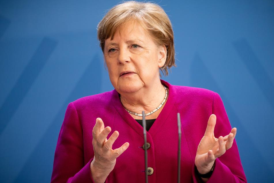Kanzlerin Angela Merkel (65, CDU). (Archivbild)