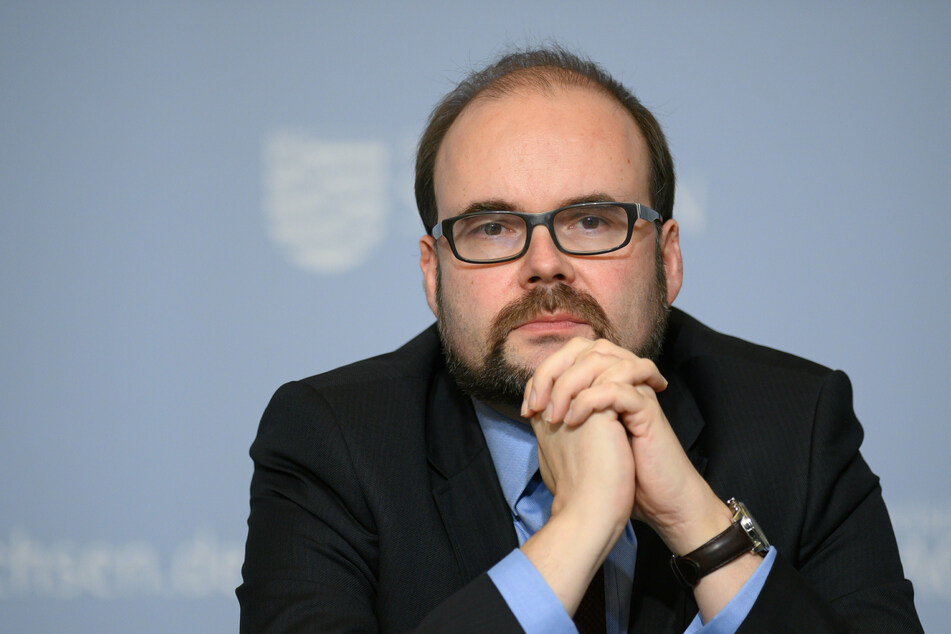 Kultusminister Christian Piwarz (46, CDU) sieht durch Corona auch neue Möglichkeiten für Sachsens Schulen.