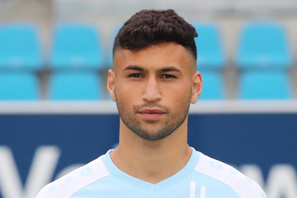 CFC-Spieler Okan Kurt (26) hatte sich in Babelsberg am Syndesmoseband verletzt - er fällt aus.