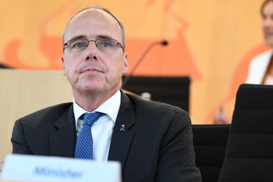 Peter Beuth (CDU), Innenminister des Landes Hessen.