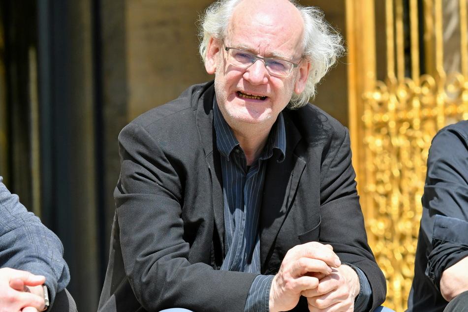 Dissidenten-Stadtrat Johannes Lichdi (57, Grüne).