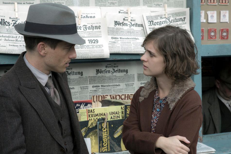 """Charlotte Ritter (Liv Lisa Fries) und Gereon Rath (Volker Bruch) sind auch in der vierten Staffel """"Babylon Berlin"""" wieder dabei."""