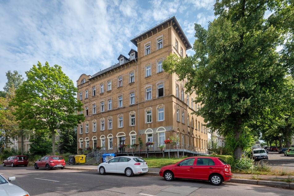 Hier finden Wohnungs- und Obdachlose eine Bleibe für die Nacht: Im Chemnitzer Wohnprojekt in der Heinrich-Schütz-Straße.
